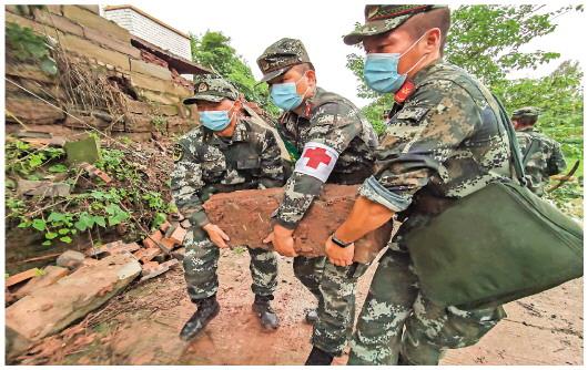 四川瀘縣6.0級地震:多方馳援災區