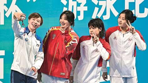 為走向高素質的中國運動員喝彩