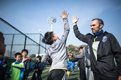 """武漢足球青訓來了""""洋教頭"""""""