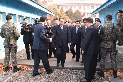 就朝方參加平昌冬奧會朝韓雙方達成多項共識
