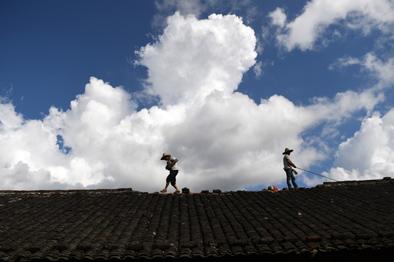 """广西:""""山竹""""致100万人受灾,重建稳步开展"""
