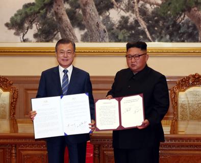 韩朝再签宣言,首就无核化方案达成协议