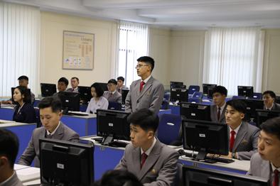 探訪朝鮮最高學府金日成綜合大學