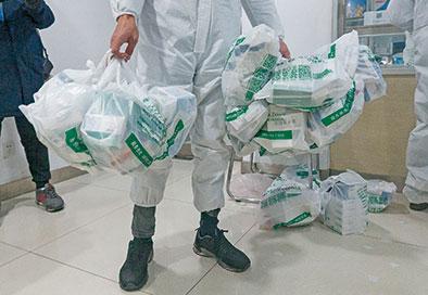 取藥員每日人均拿藥三萬盒