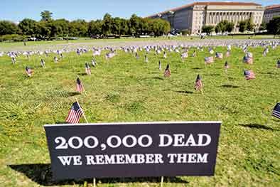 20萬生命的拷問——美國新冠之殤